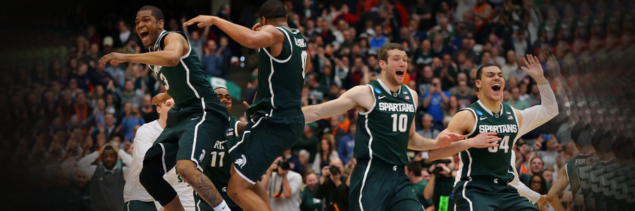 The early College Basketball Betting predictions are not good for the Michigan State Spartans.