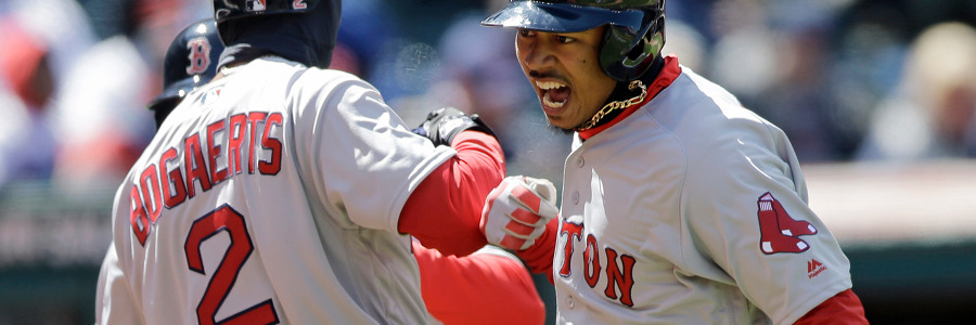 The MLB Betting Odds are against the Red Sox.