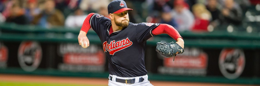 The Indians are favorites in the MLB odds against the Tigers on Friday.
