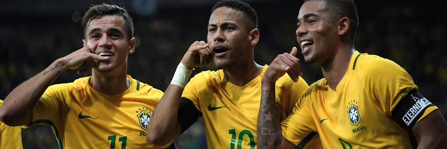 Brazil is the 2018 World Cup Betting favorite against Serbia.