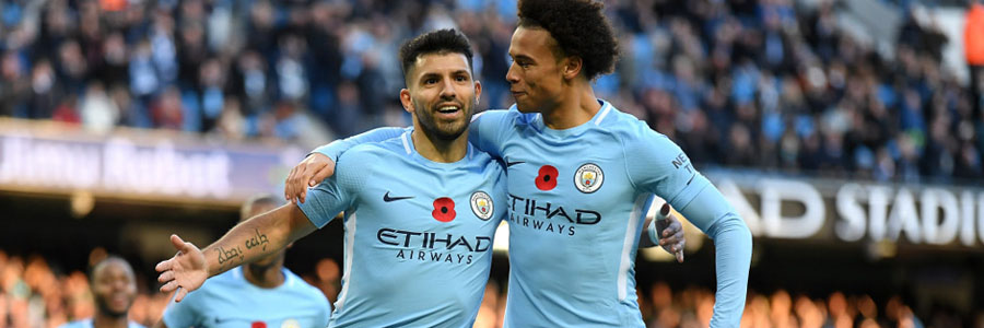 Manchester City is one of the 2018 International Champions Cup Betting favorites.