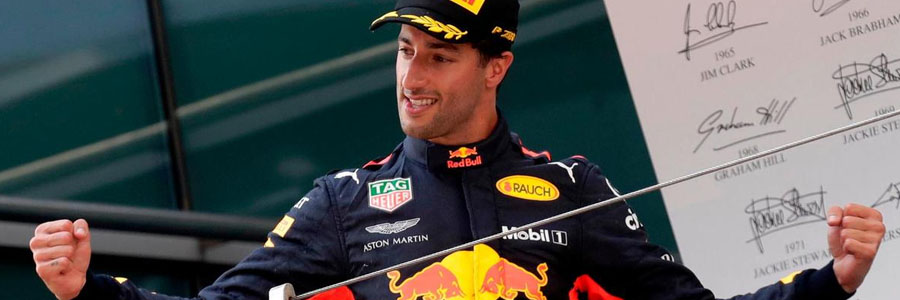 Daniel Ricciardo is one of the Formula 1 Betting favorites to win at Barcelona.