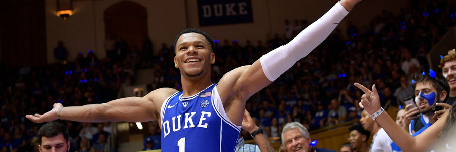 Once again, Duke is one of the College Basketball Betting favorites of the Week.