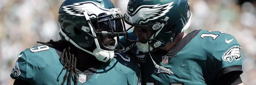 The Eagles are favorites at the NFL Odds to win the NFC East.