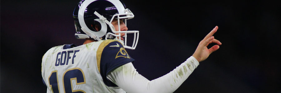 The Rams are underdogs for Super Bowl LIII.