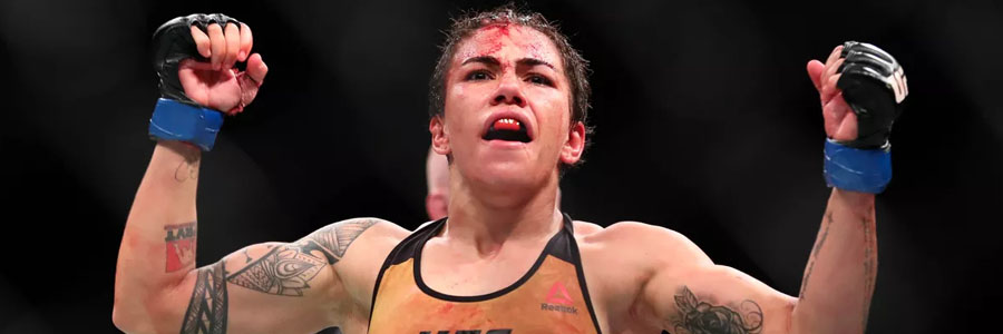 Jessica Andrade is one of the MMA Betting favorites for UFC on Fox 28.