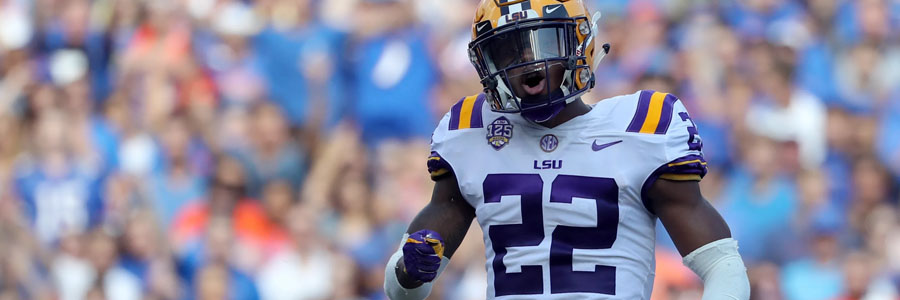 Why Bet on LSU to Win the 2020 College Football Championship?