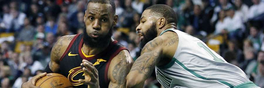 Despite being down 2-1 against the Celtics, LeBron James and the Cavs still have good NBA Championship Odds.