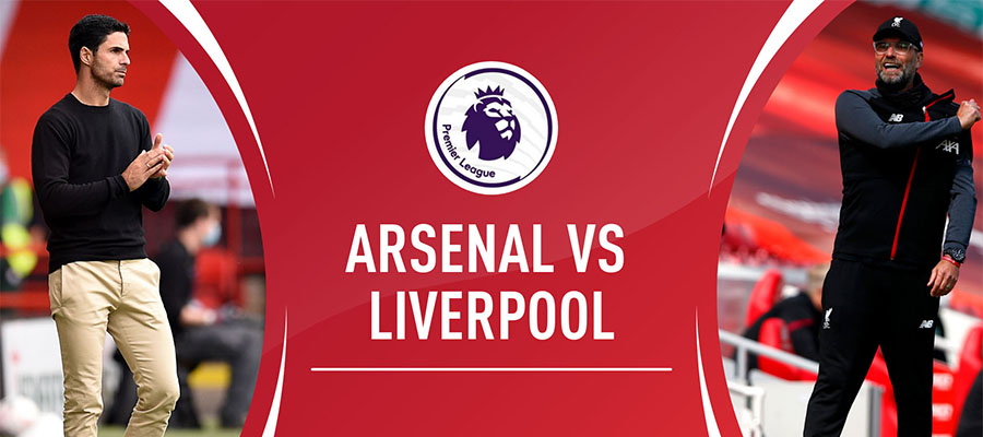 Liverpool v. Arsenal Premier League Matchweek 36