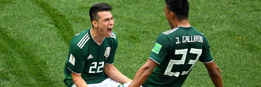 Mexico comes in as the 2018 World Cup Betting favorite against South Korea.