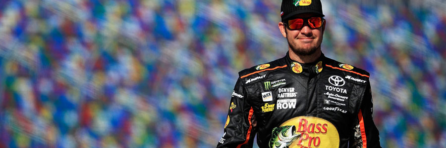 Martin Truex Jr is one of the NASCAR Betting favorites to win the 2018 Food City 500.