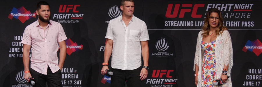 Stephen Thompson is favor by the UFC 217 Betting Odds against Jorge Masvidal.
