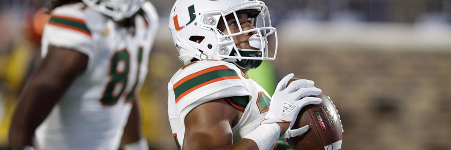 Miami should be one of your NCAA Football Bowl picks of the week.