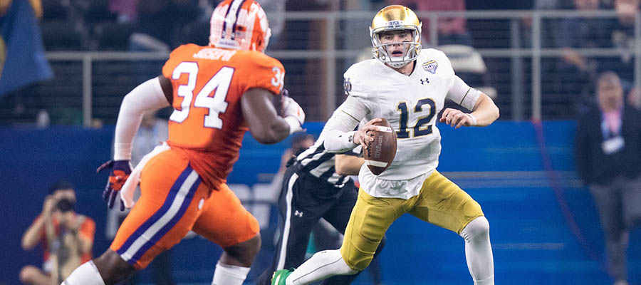NCAAF Betting: Clemson at Notre Dame Analysis