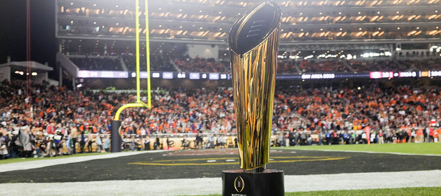 NCAAF Betting: Updated 2021-22 National Championship Odds