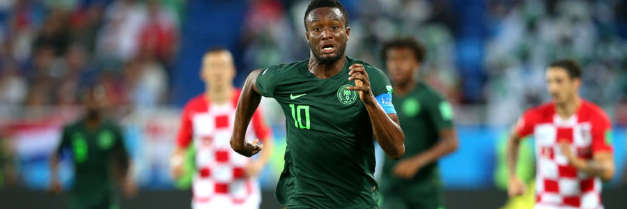 Nigeria is the 2018 World Cup Betting underdog against Iceland.