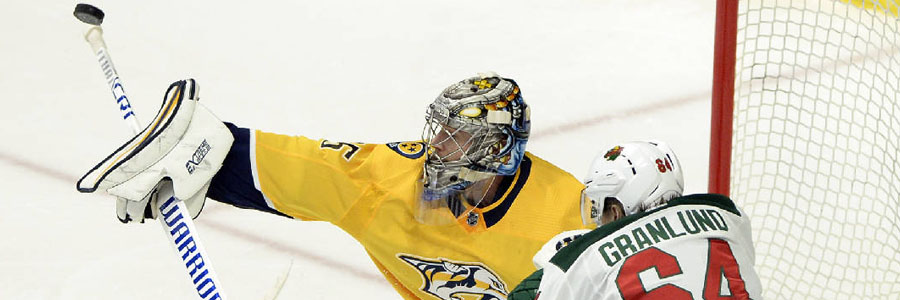 Predators are one of the favorites at the NHL Betting Odds.