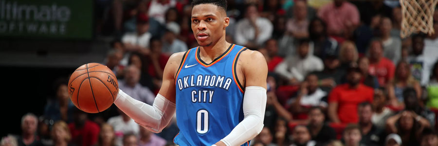 The Thunder should be one of your NBA Betting picks of the week.