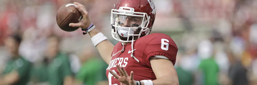 Sooners are favored by the NCAAF Week 10 Odds.