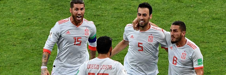 Spain comes in as the 2018 World Cup Betting against Iran.
