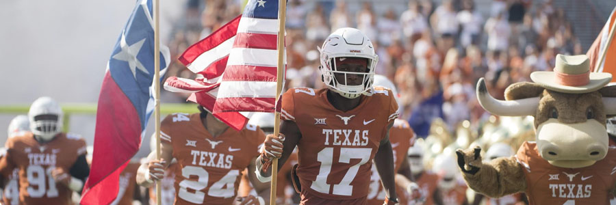Texas should be one of your NCAA Football Week 12 Betting picks.