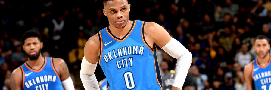 Oklahoma City should be your NBA Betting Pick against Utah.