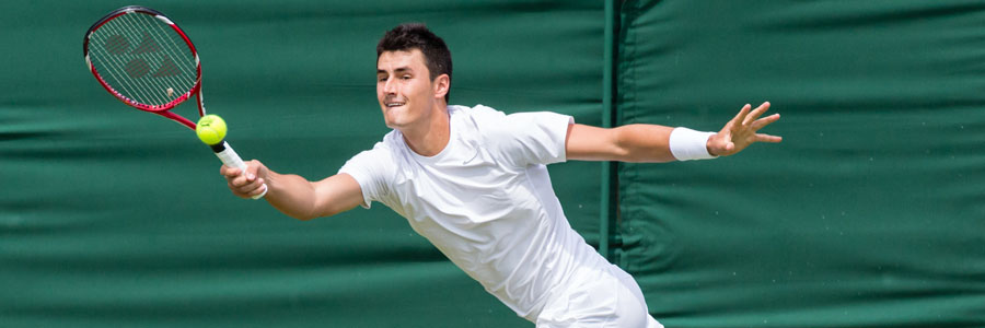 Bernard Tomic should be one of your Tennis Betting picks of the week.