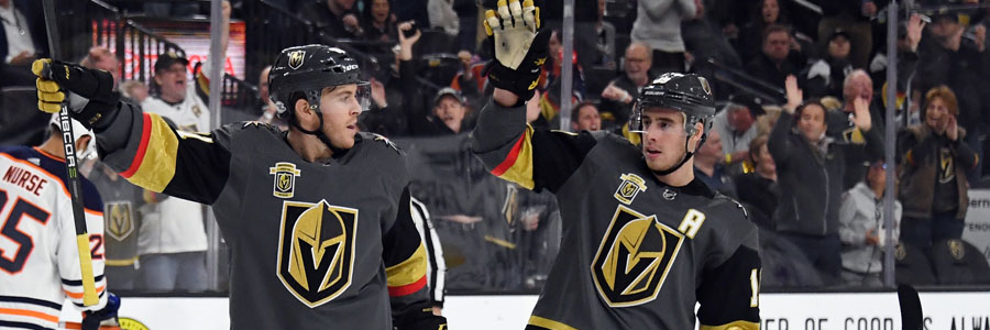 Once again, the Golden Knights come in as the NHL Betting favorites against the Capitals.