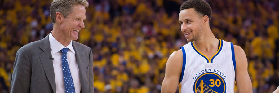 The Warriors should be one of your NBA Betting picks of the week.