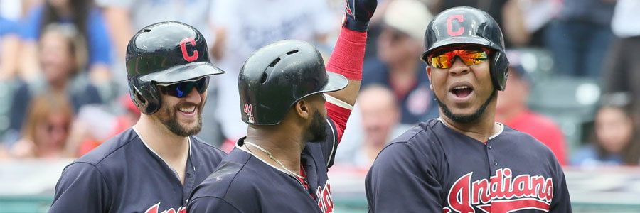 The Indians are underdogs in the MLB odds for Tuesday's matchup.