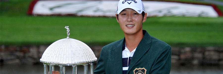 Last year's winner Danny Lee is not one of the favorites to win the Greenbrier Classic.