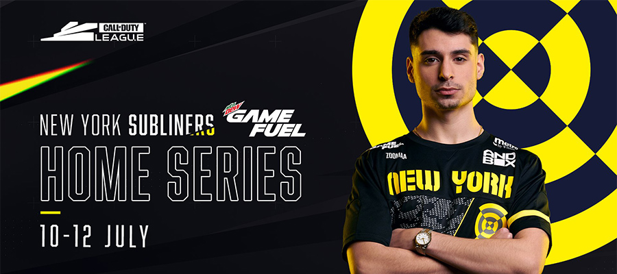 eSports Betting: Call of Duty League (CDL) - New York Home Series - July 10 matches