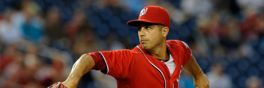 The Nationals are favorites in the MLB odds to beat the Cubs on Tuesday.