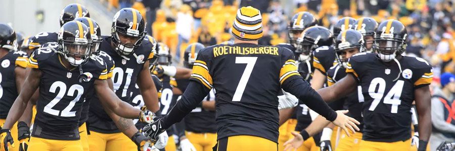 The Steelers are the NFL betting favorites against the Browns in Week 1.